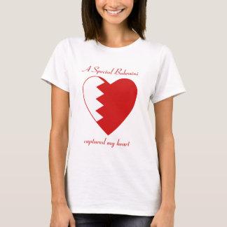 Bahrain Flag Sweetheart T-Shirt