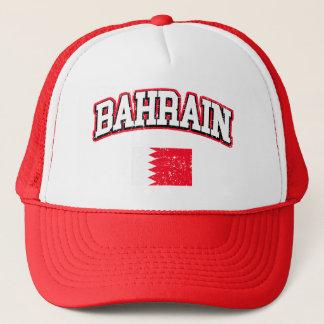 Bahrain Flag Trucker Hat