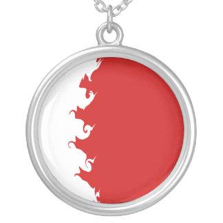 Bahrain Gnarly Flag Necklace