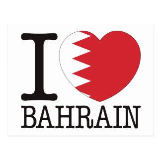 Bahrain love v2 postcard