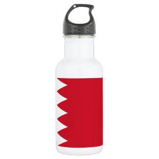 Bahrain National World Flag 532 Ml Water Bottle