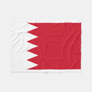 Bahrain National World Flag Fleece Blanket