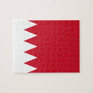 Bahrain National World Flag Jigsaw Puzzle