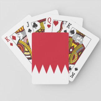 Bahrain National World Flag Playing Cards
