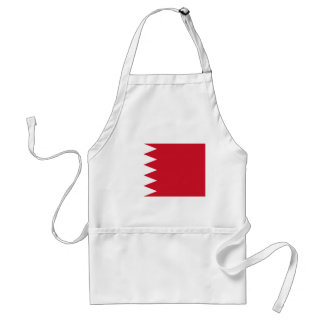 Bahrain National World Flag Standard Apron