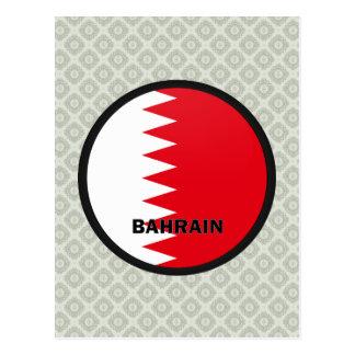 Bahrain Roundel quality Flag Postcard