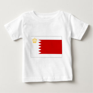 Bahrain Royal Standard Flag Baby T-Shirt