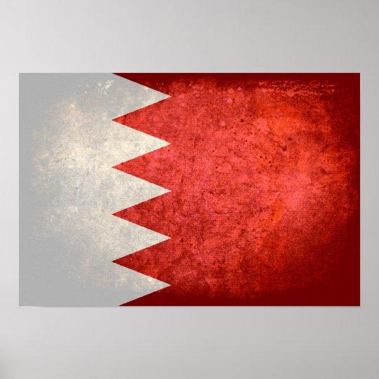 Bahraini Flag Poster