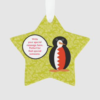 Bahraini Holiday Mr. Penguin Ornament