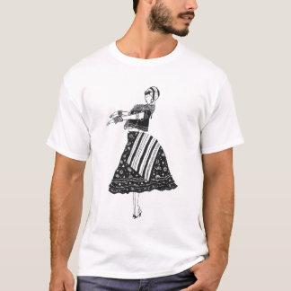 Baiana Preto e Branco T-Shirt
