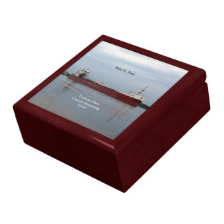 Baie St. Paul loaded keepsake box