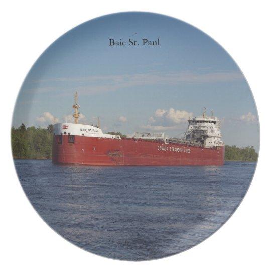 Baie St. Paul plate