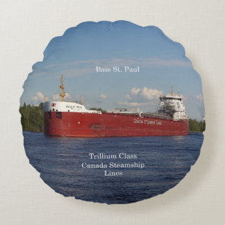 Baie St. Paul round pillow