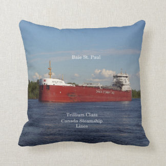 Baie St. Paul square pillow