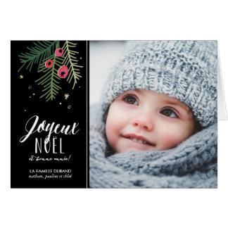 Baies Rouges | Joyeux Noël Card