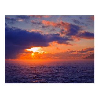 Baikal Another Sunset Postcard