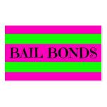 Bail Bonds Neon Colours