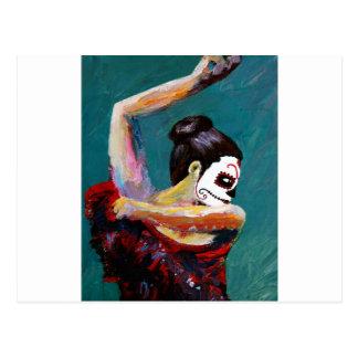 Bailan de los Muertos Postcard