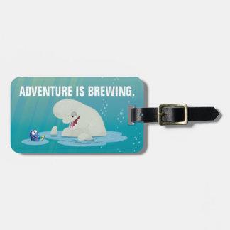 Bailey & Dory | Swim with Friends Luggage Tag