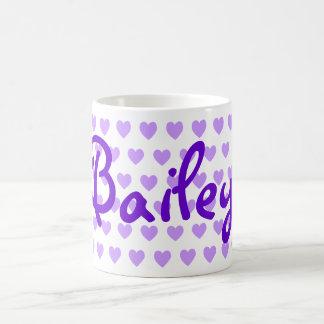 Bailey in Purple Coffee Mug