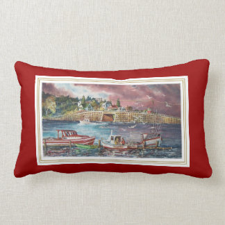 Bailey Island Cribstone Bridge Pillow