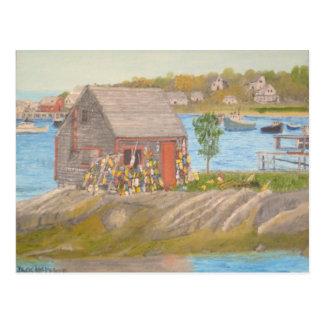 Bailey Island Fisherman's Shed Postcard