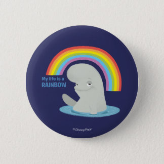 Bailey | My Life is a Rainbow 2 Inch Round Button