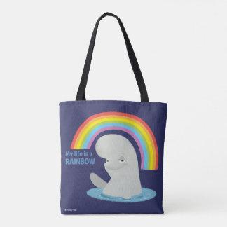 Bailey   My Life is a Rainbow Tote Bag