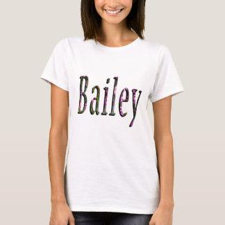 Bailey, Name, Logo, Ladies White T-shirt