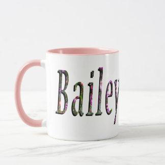 Bailey, Name, Logo, Pink Combo Coffee Mug. Mug