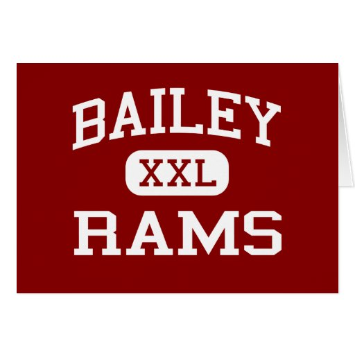 Bailey - Rams - Junior - Arlington Texas Greeting Cards