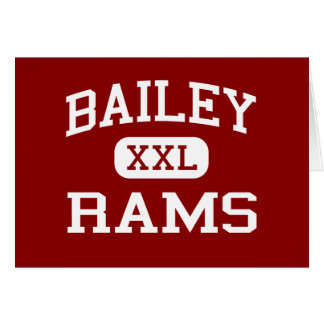 Bailey - Rams - Junior - Arlington Texas Greeting Card