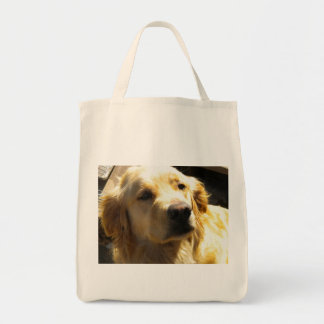 Bailey the Golden Retriever Tote Bag