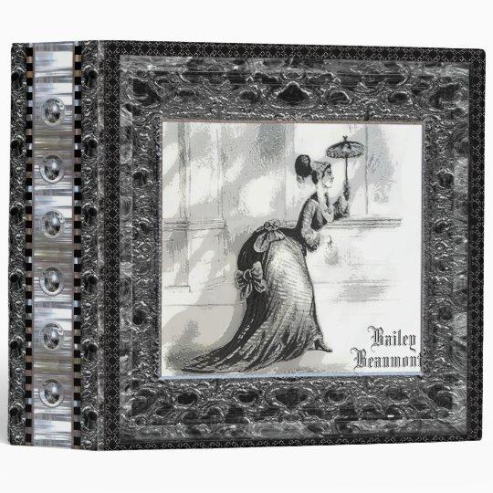 Bailey Victorian Vinyl Binder