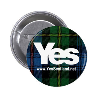 Baillie Ancient Yes Badge 2 Inch Round Button