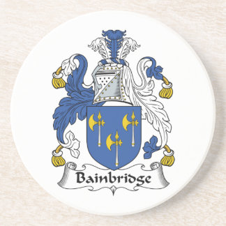 Bainbridge Family Crest Coaster