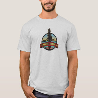 Bainbridge Island Circle Patch T-Shirt
