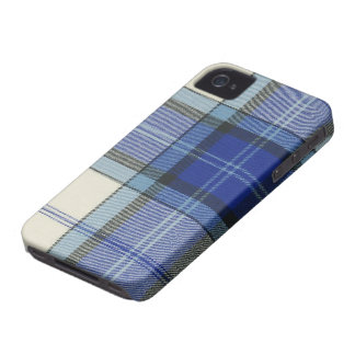 Baird Dress Blue Tartan Plaid iPhone 4/4S Case