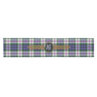 Baird Dress Tartan And Monogram Short Table Runner