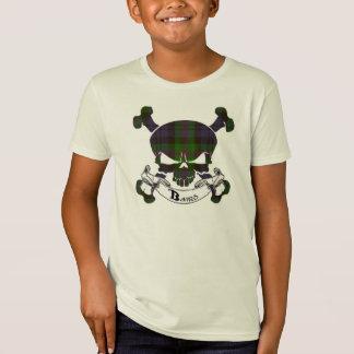 Baird Tartan Skull T-Shirt