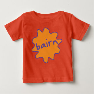 Bairn, Yorkshire, Northern Slang Baby Tee Shirt