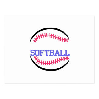 Baisse nommée du base-ball carte postale