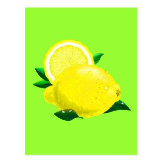 Baisses de citron cartes postales