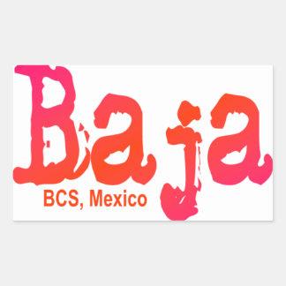 Baja, BCS, Mexico Sticker