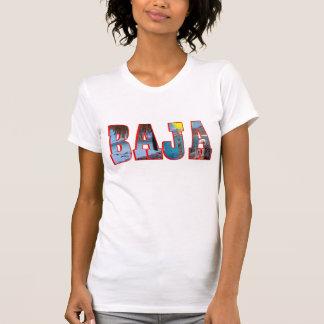 Baja postcard t-shirts