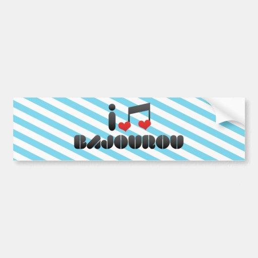 Bajourou Bumper Sticker