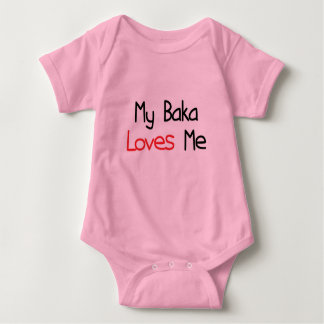 Baka Loves Me Baby Bodysuit