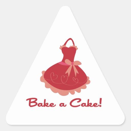 Bake A Cake Stickers