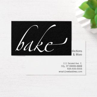 Bake: Baker, Bakery Business Card