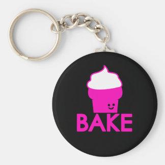 Bake - Cupcake Design Keychain